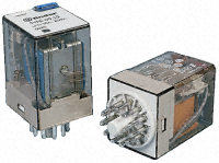 Finder 60 Series 8 and 11 Pin Relays