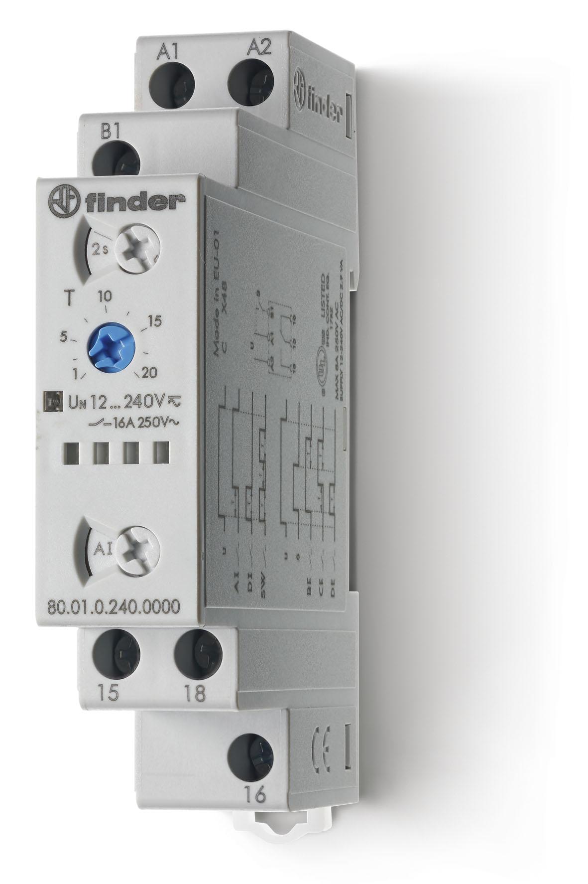 Finder 80 Series Modular Timers