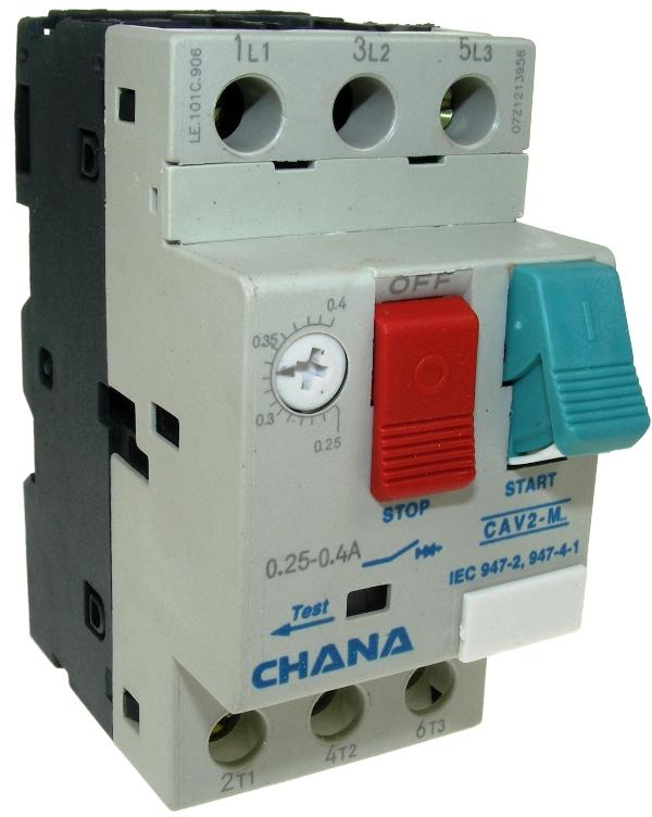 Chana CAV Range Manual Motor Starters