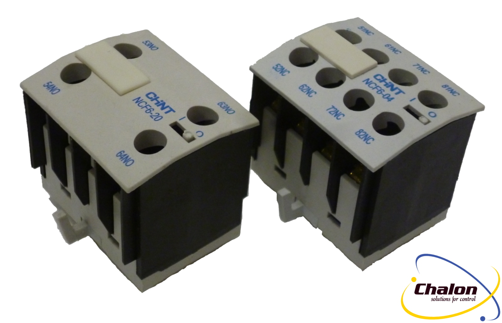 Auxiliary Contact Blocks for Chint NC6 Mini Contactors