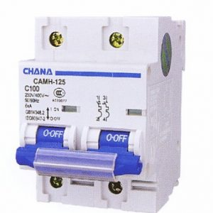 CAMH Double Pole High Current MCB-412