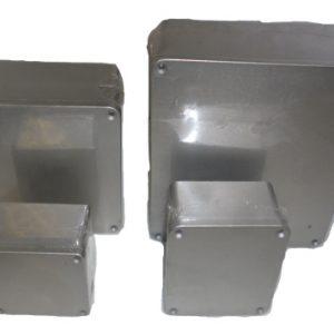 E135.110 ELEG Aluminium Junction Box-597