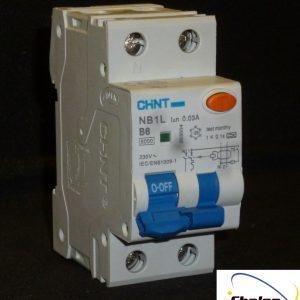 Chint 1P+N RCBO NB1L Series-784
