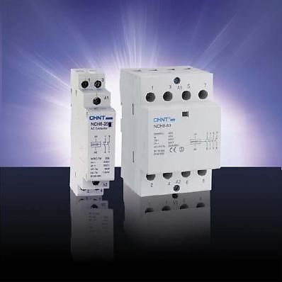 Chint NCH8-4P-63 Modular AC Contactor-373