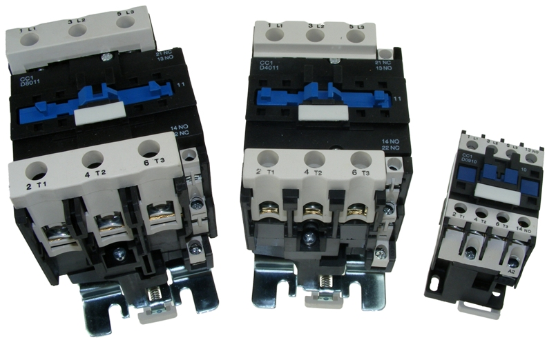 Chana CC1 Contactors, Overloads & Auxillaries