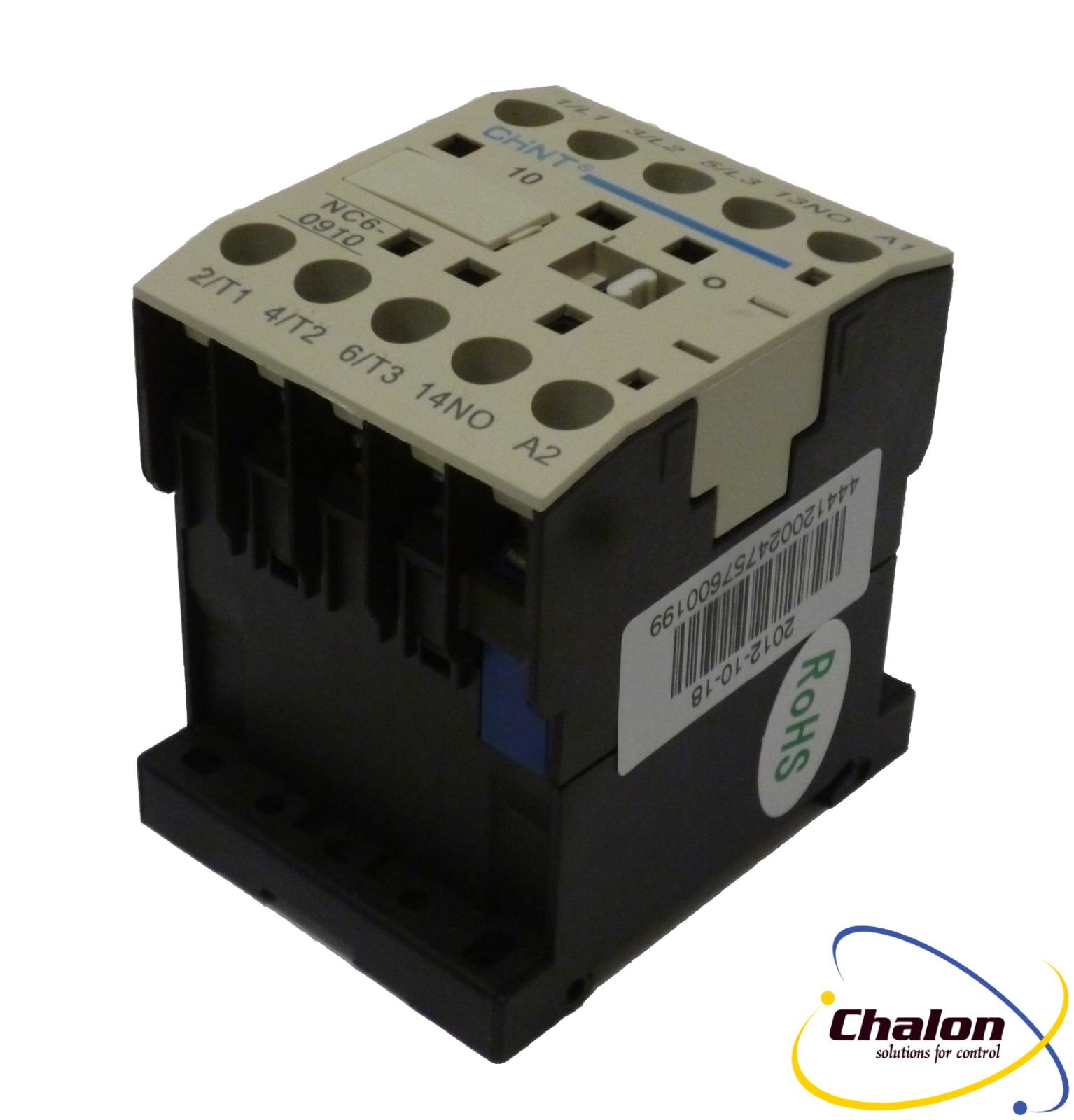 Chint NC6 Mini Contactors and Overloads