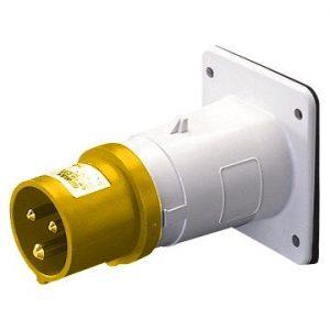 IP44 110v 2P+E Flush Mounting Appliance Inlet-1364
