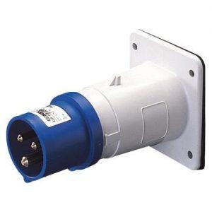 IP44 230v 2P+E Flush Mounting Appliance Inlet-1365