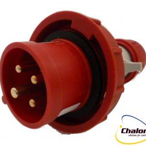 Elettro Canali IP67 400V 3P+E Trailing Plug-1255