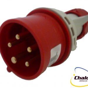 Elettro Canali IP44 400V 3P+N+E Trailing Plug-1246