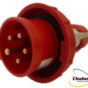 Elettro Canali IP67 400V 3P+N+E Trailing Plug-1256