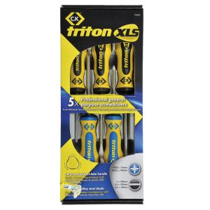 CK Triton XLS PZ/SL 5 x Screwdriver Set T4727-1385