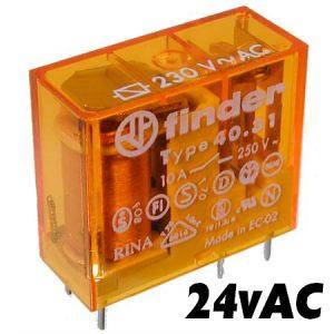 Finder 4031 Series Relay 24vAC-1484