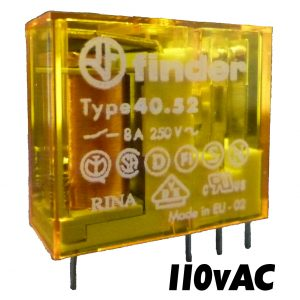 Finder 4052 Series Relay 110v AC-1492