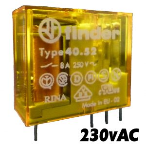 Finder 4052 Series Relay 230v AC-1493