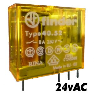 Finder 4052 Series Relay 24v AC-1491