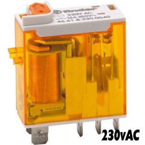 Finder 4661 Series Relay 230vAC-1498