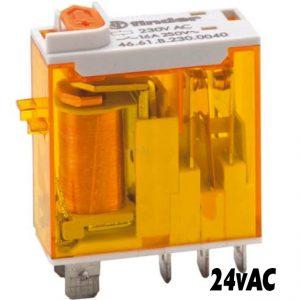 Finder 4661 Series Relay 24vAC-1496