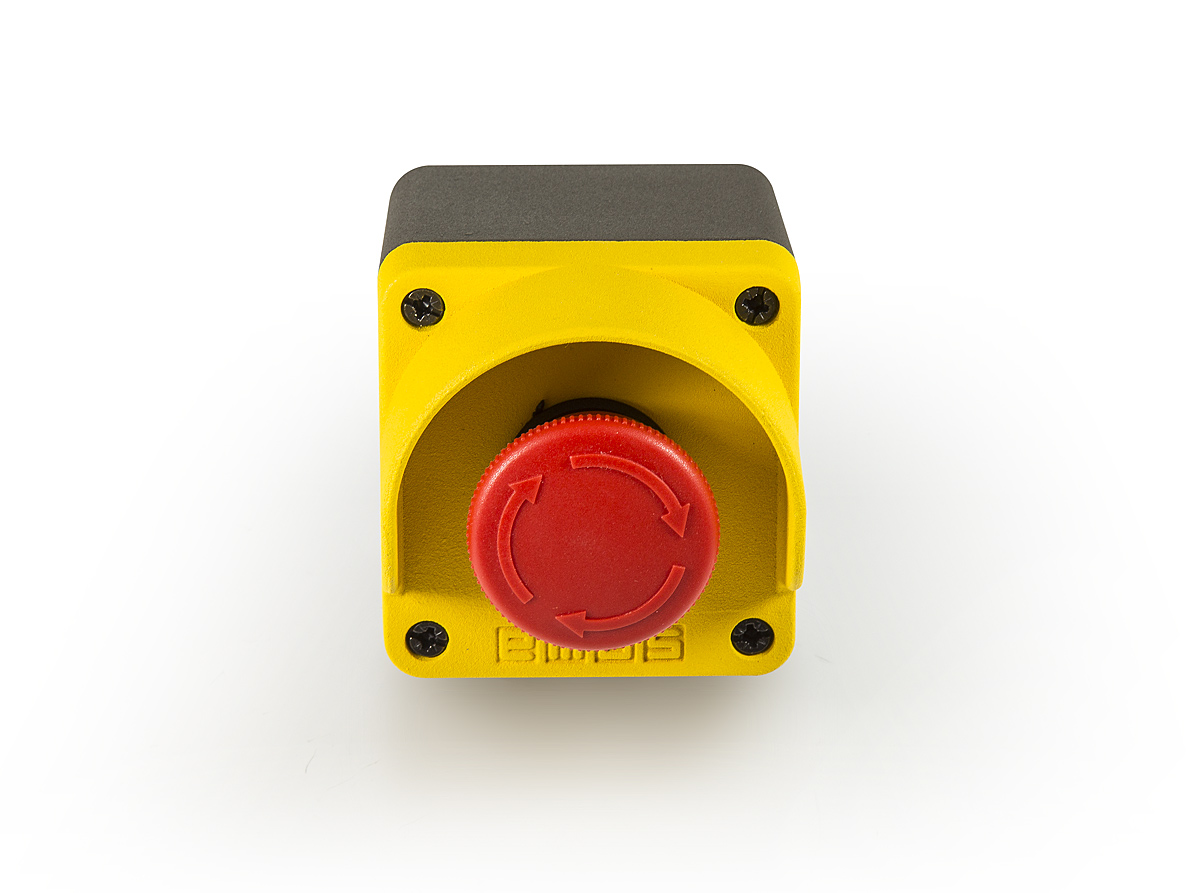Mem Fuse Box Uk : Emas m series yellow grey metal box single emer stop