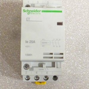 Schneider 15962 CT 4NO 25A Contactor 240VAC 50Hz
