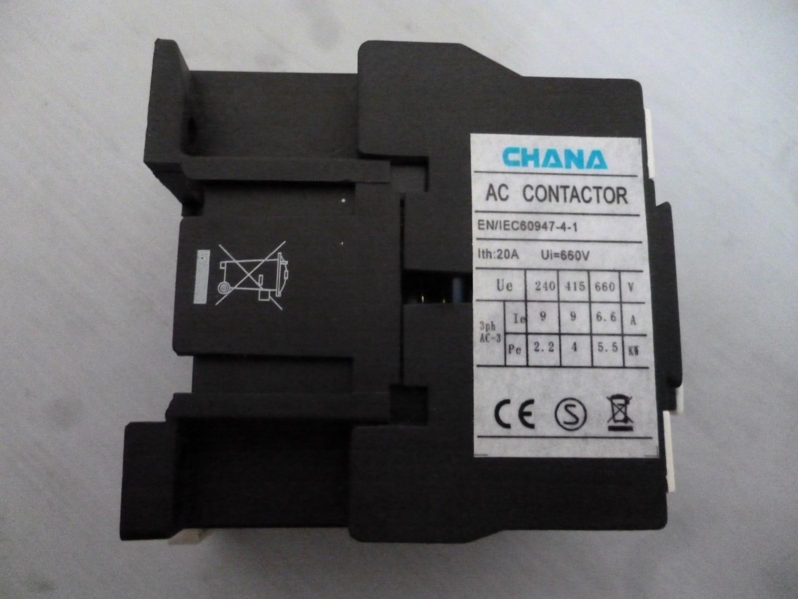Chana CC1-0901 3 Pole Contactor