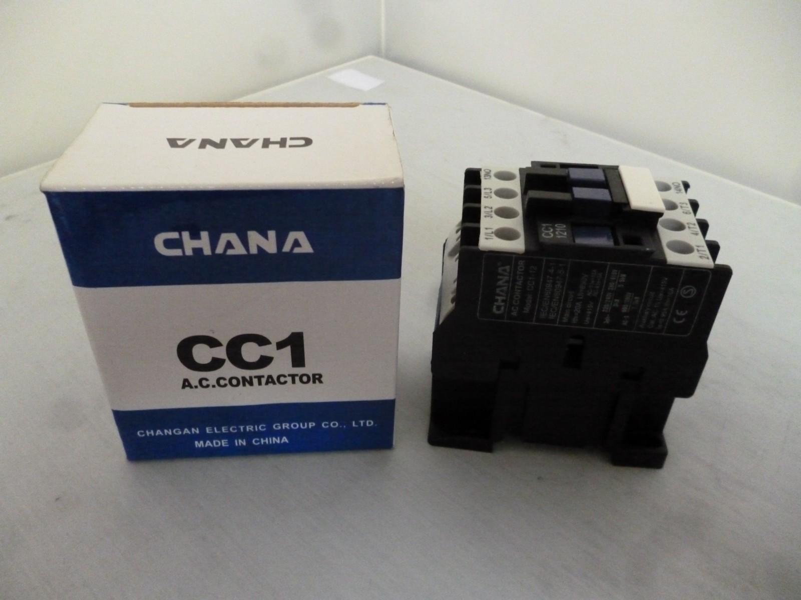Chana CC1-1210 3 Pole Contactor
