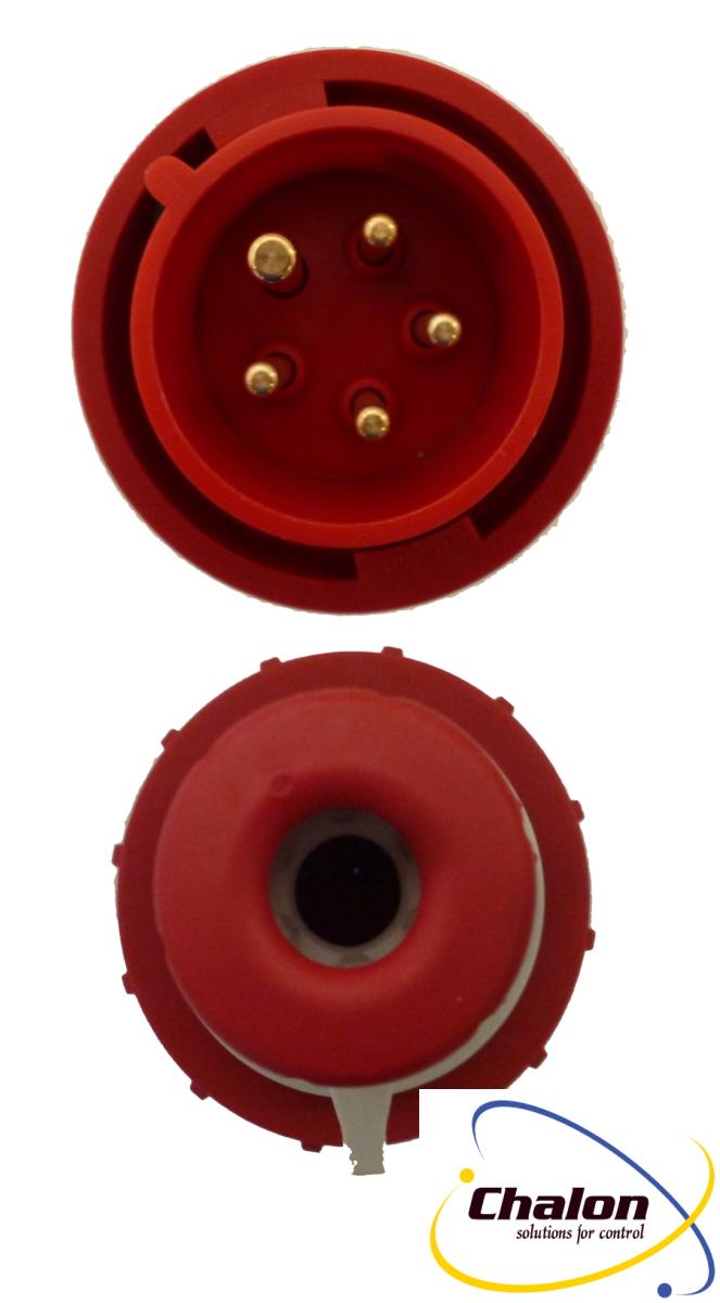 Elettro Canali IP67 400V 3P+N+E Trailing Plug