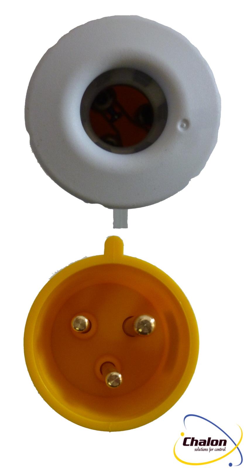 Elettro Canali IP44 110V 2P+E Trailing Plug