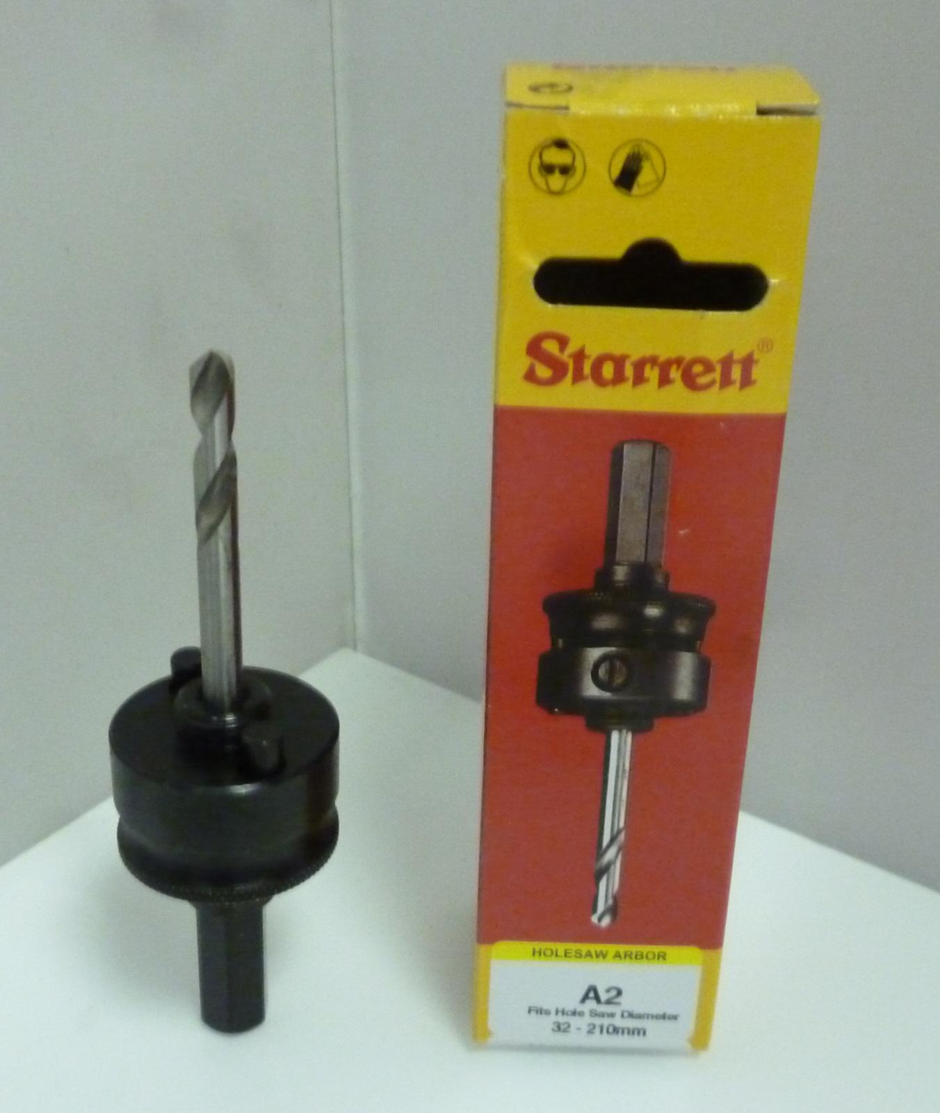 Starrett A2 Arbor to Suit 32mm-210mm Holesaws
