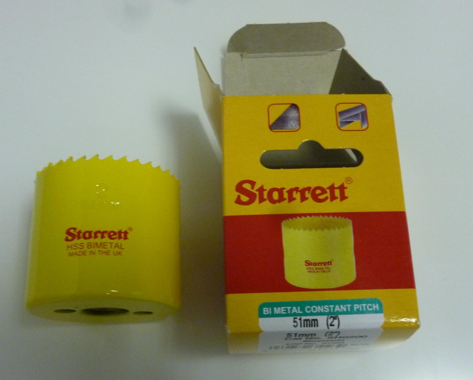 Starrett SH0200 Bi Metal Hole saw 51mm