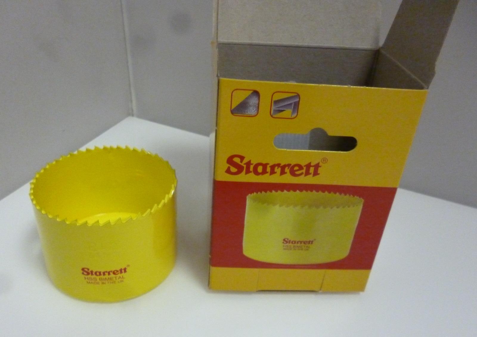 Starrett SH0212 Bi Metal Hole saw 64mm